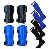 firelong 2Paar Schienbeinschoner Fußball Fußball Schienbeinschoner Displayschutzfolie Kalb schutzausrüstungen für