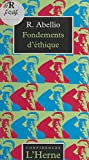 Fondements d'éthique (Confidences) (French Edition)