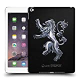 Head Case Designs Offizielle HBO Game of Thrones Silber Lannister Embossed Sigils Ruckseite Hülle für iPad Air 2 (2014)