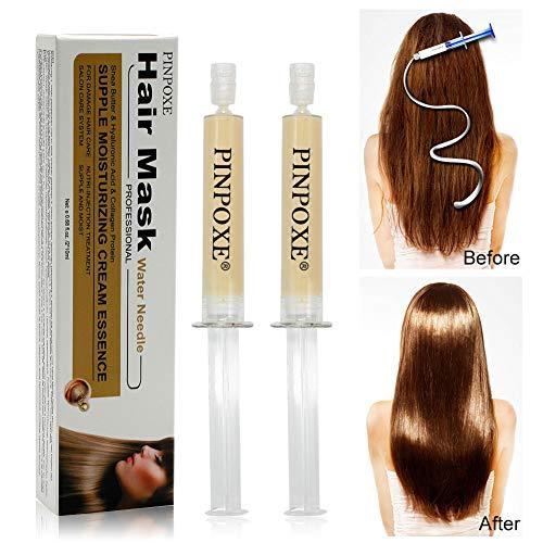 Hair Treatment, Haarmaske, Conditioner Haarkur, Nature Haarpflege set eschädigt & Trocknen Haare Reparatur & Wachstum 2 Stück Haarmaske