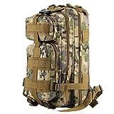 OUTAD Zaino Militare Tattico 30L in Oxford, 3P Zaino Molle Campeggio Escursionismo Zaino d'Assalto Bag
