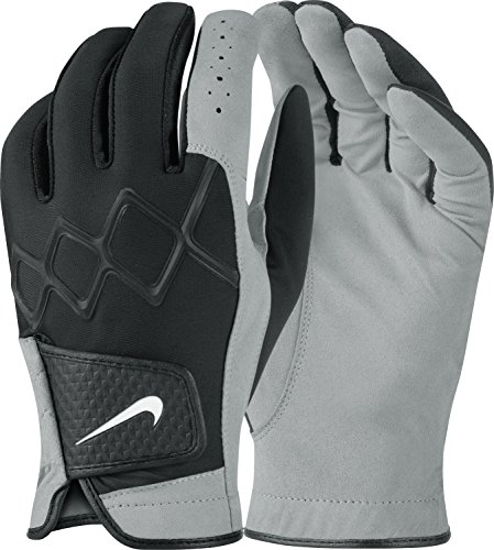 Nike All Weather III – Regular Pair – Men's Gloves, Colour: Black / White / Dark Grey, Men, All Weather III – Regular