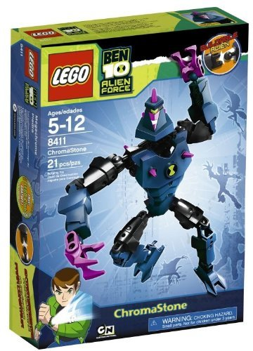 Lego Ben 10 Alien Force Chromastone #8411 By Ben 10 Alien Force Picture