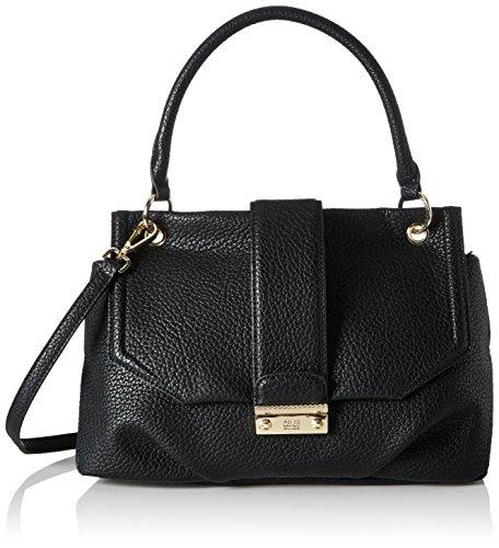 Cavalli Damen Cosmopolitan Schultertasche, 12 x 20.5 x 33 cm Schwarz (Black)