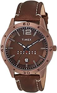 Timex Analog Brown Dial Men's Watch-TW000U936