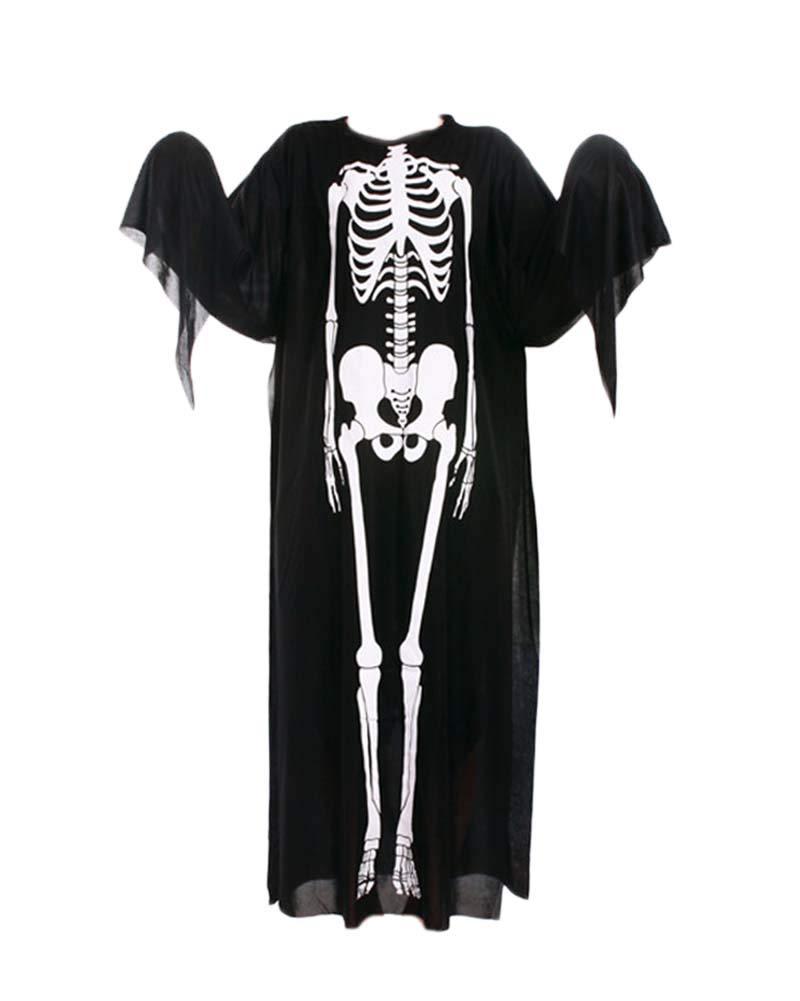 Guiran Disfraz De Esqueleto De Halloween Hombre Niños para Carnaval Partido Disfraces Cosplay Set