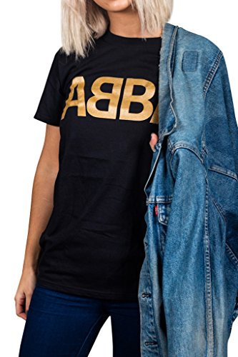 Official ABBA Logo Unisex T-Shirt