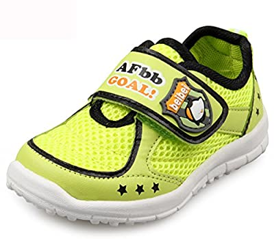 LISA HANDMADE Big Kid's Mesh Sneakers Little Boys' Racer Running Super Breathe Shoes' by LISA HANDMADE