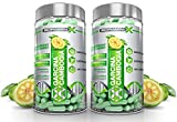 x2 Maximum Strength Garcinia Cambogia Diet Pills - Scientifically Backed Appetite Suppressant & Fat Binder (120 Capsules | 2 Month Supply) by BioPharm-X