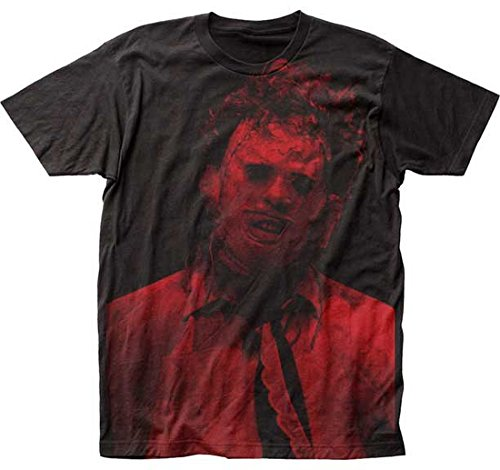 Chainsaw T-shirt Texas (Impact Texas Chainsaw Massacre Leatherface Big Print Subway T-Shirt)