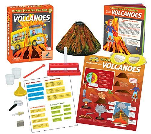 The Magic School Bus Blasting off with Erupting Volcanoes