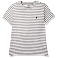 Polo Ralph Lauren Top For WOMEN, GRY/WHT L