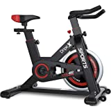 Dripex Upright Exercise Bikes (Indoor Studio Cycles) - 2020 Version-Studio Quality with Heart Rate Monitor, Large Bidirection