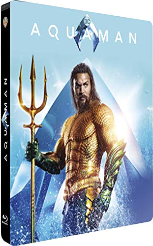 Aquaman [4K Ultra HD + Blu-ray 3D + Blu-ray - Édition Limitée SteelBook]