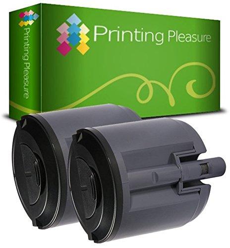 2er Set Xerox 6110 106R01274 Schwarz Premium Toner Kompatibel für Xerox Phaser 6110, 6110MFP, 6110N, 6110VN, 6110VB (6110 Laser Toner)