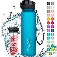 """720°DGREE Trinkflasche """"uberBottle"""" mit Früchtebehälter - 1l - Deine Lifestyle Wasserflasche aus Tritan - Die..."""
