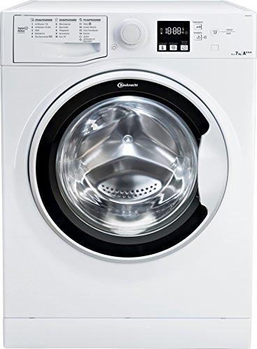 Bauknecht WA Soft 7F41 Waschmaschine Frontlader / A+++ -10% / 1400 UpM / 7 kg / Weiß / langlebiger Motor / Nachlegefunktion / Wasserschutz