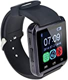 lemfo Bluetooth Smartwatch for Smartphones - Black