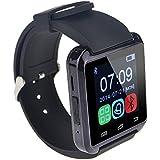 lemfo Bluetooth Smartwatch for Smartphones - Black