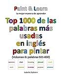Top 1000 de las palabras más usadas en inglés (Volumen 6 palabras 501-600)