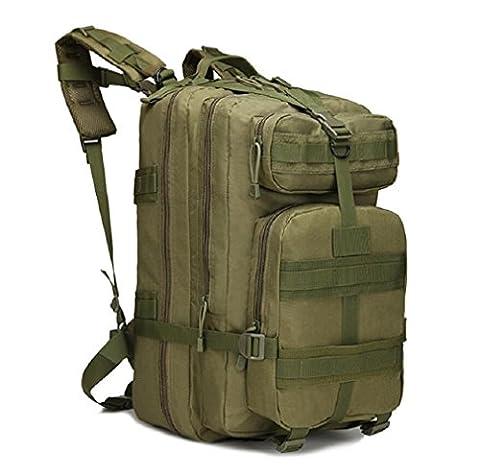 ZC&J Outdoor 20-35L capacité de randonnée pédestre randonnée équitation sac à dos, colis d'action sac à dos tactique camouflage, sac à dos réglable en tissu Oxford,B,20-35L