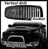 200-202025 Kühlergrill Black Edition Serie Vertical GlossBlack