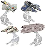 Hot Wheels – Star Wars – Hero Starship – Die–Cast Kollektion mit 4 Minifahrzeugen