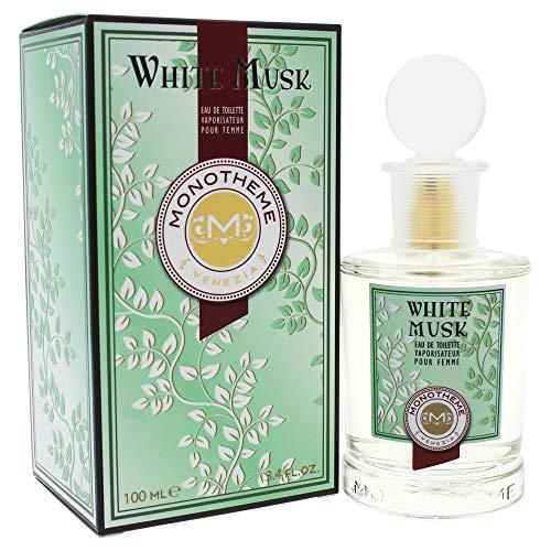 Monotheme White Musk eau pour femme, femme/woman, Eau de Toilette, 100 ml -