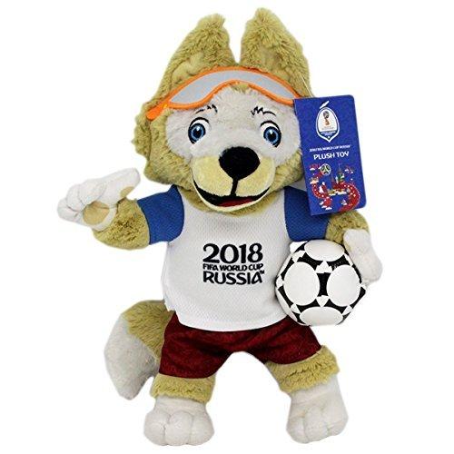 "Offizielles Fussball WM 2018 Plüschmaskottchen ""Zabivaka"""