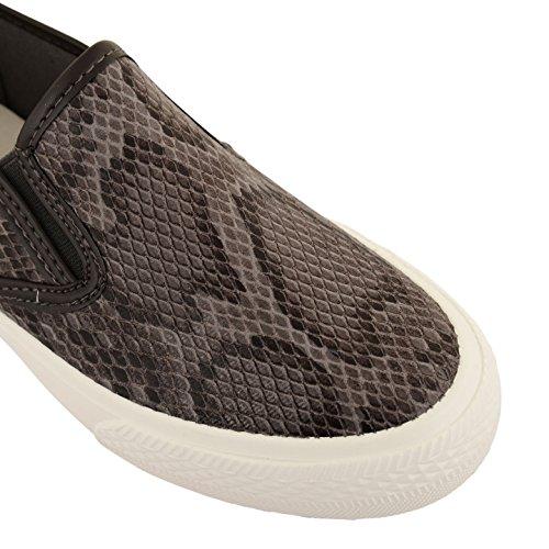 Donna Dolcis Skater pompe Sneaker Sneaker Scarpe piattaforma scarpe Taglie UK Grey