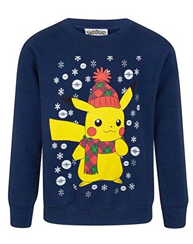 Pokemon Pikachu Kid's Christmas Sweatshirt (11-12 Years)