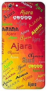 Ajara (Not Wearing out Everlasting Adhishri) Name & Sign Printed All over customize & Personalized!! Protective back cover for your Smart Phone : Moto G2 ( 2nd Gen )