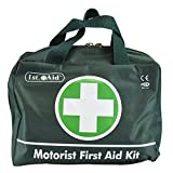 Deluxe 70pc First Aid Kit Nylon Green Zip Carry Case Home Camping Travel Car Motorist Work Office Accident Emergency