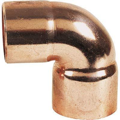 Coude 90° F/F Petit Rayon cuivre à souder/Diam 16/Femelle/Femelle