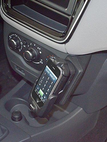 KUDA Telefonkonsole (LHD) für Dacia Lodgy ab 2012 / Dacia Dokker ab 2013 Kunstleder schwarz