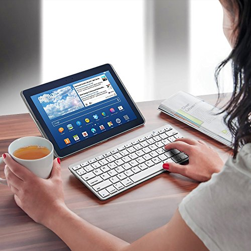 EMISH Wireless Bluetooth Keyboard, Ultra Slim mini keyboard