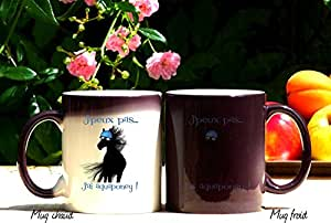 Mug humour, mug Aqua-poney, mug magique