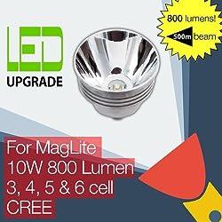 MagLite LED mise à niveau ampoule 800LM Haute Puissance Torche 3D 4D 5D 6D Cell CREE
