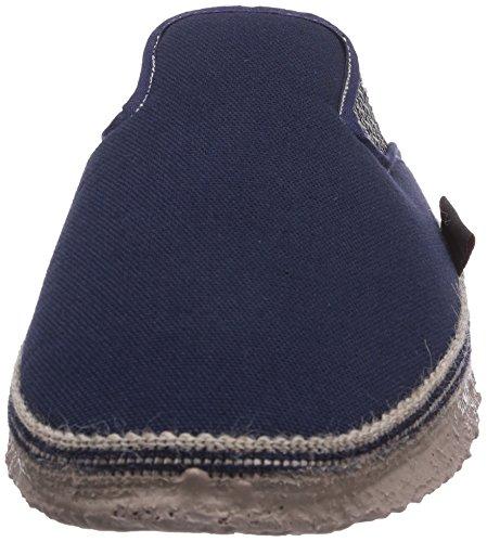 Giesswein Petersdorf, Chaussons montants Doublé Chaud homme Bleu (548 Dunkelblau)