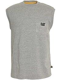 Caterpillar Herren Trademark Sleeveless T-Shirt