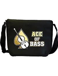Double Bass Ace Of Bass - Sheet Music Document Bag Musik Notentasche MusicaliTee