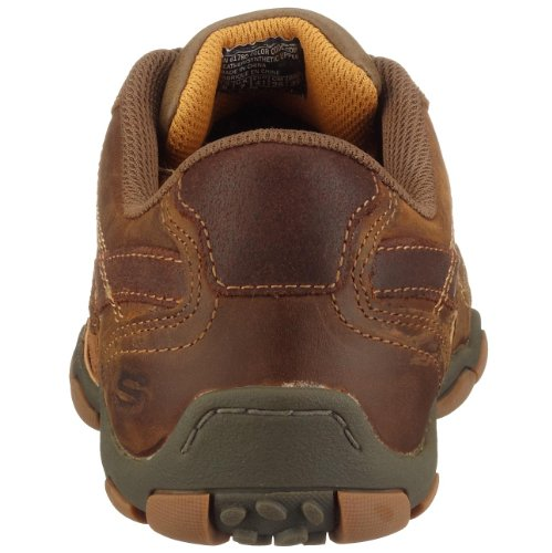 Skechers DiameterTorino 61780 Basket Homme, Gris  (CHAR), EU 48.5 Marron (cdb)