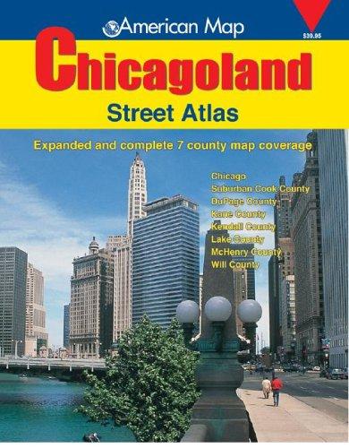 American Map Chicagoland Street Atlas: 2005 (Chicagoland Atlas) por Creative Sales Corp.