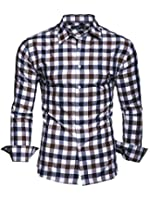 "KAYHAN Men´s long Sleeve Shirt EASY IRON, Slim Fit comfortable fabric Type ""Double C"""