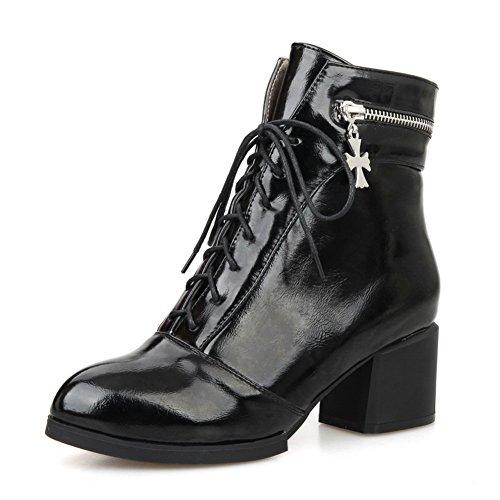 1to9 - Sandales Compensées Pour Femmes Noires