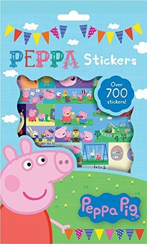 Image of Anker Peppa Pig 700-Stickers Collection Pack