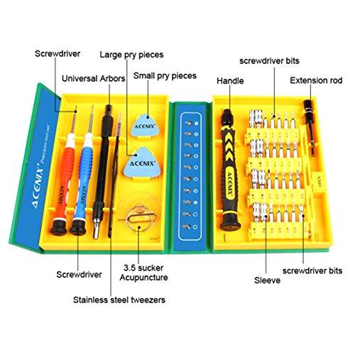 ACENIX® Werkzeug Kit 38 In 1 Für IPhone 5C 5S 5G 4S 4G IPad 2 3 4 5 Schraubendreher Set Neu