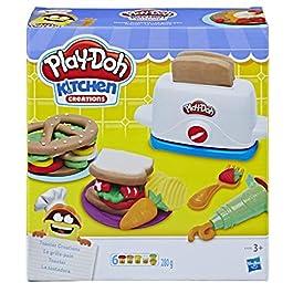 Hasbro Play-Doh – Il Tostapane, Multicolore, E0039EU4