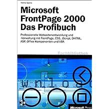 Microsoft Frontpage 2000, m. CD-ROM