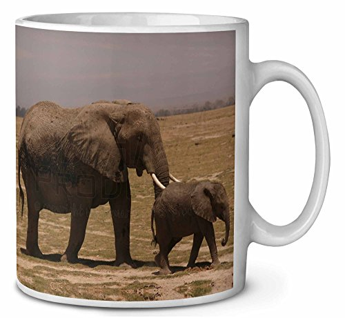 Elefante y Tuskers bebé Cumpleaños taza de café regalo navidad